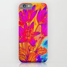 Colchicum Flower Painting Slim Case iPhone 6s