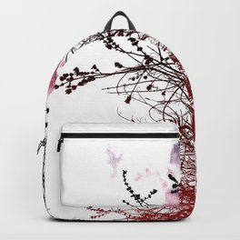 Fire In Backpack