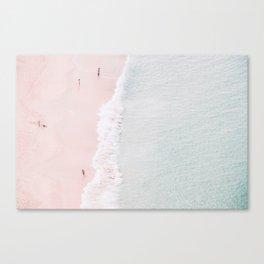Sands of Silk Canvas Print