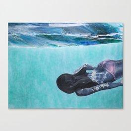 Underwater Ocean Series #1 Canvas Print