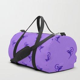 minimalistic watercolor scribble seamless pattern c70 Duffle Bag