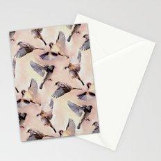 Sparrow Flight Stationery Cards