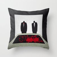 pulp Throw Pillows featuring Pulp by Osvaldo Casanova