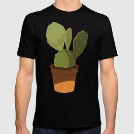Orange Pot Cactus T-shirt