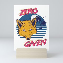 Zero Fox Given Mini Art Print