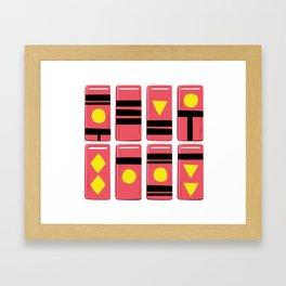 Bath Token Framed Art Print