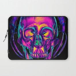 Trippy Skull Laptop Sleeve
