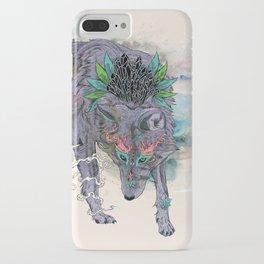 Journeying Spirit (wolf) iPhone Case