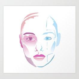 Lynn A.I. Art Print