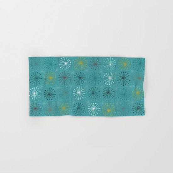 seedheads blue Hand & Bath Towel