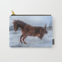Fire and Ice - Equine Photography Carry-All Pouch