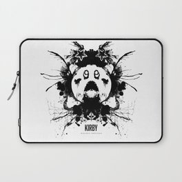 Kirby Ink Blot Geek Psychological Disorders Laptop Sleeve