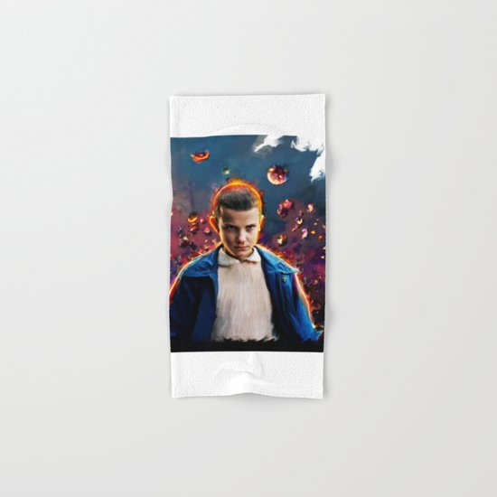 stranger things eleven  Hand & Bath Towel