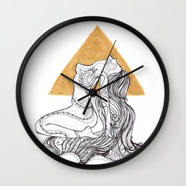 Cosmic Beauty I (Sol) Wall Clock