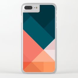 Geometric 1708 Clear iPhone Case