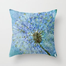 Dandelion By Heather Hayes Throw Pillow