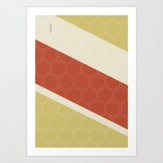 Geo Block No. 2 Art Print