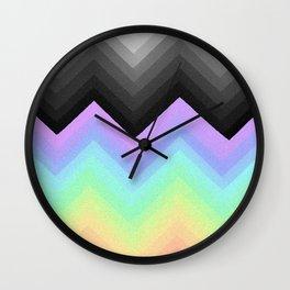 Rainbow Break Wall Clock