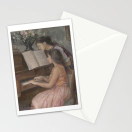 Piano Lessons Stationery Cards