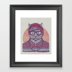 So Hipster Framed Art Print