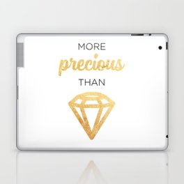 More Precious Than... Laptop & iPad Skin