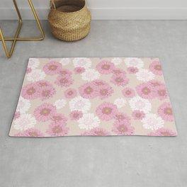 Gerbera daisies in pink Rug