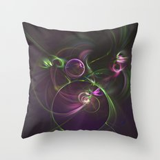 The Motion of Celestial Bodies Throw Pillow