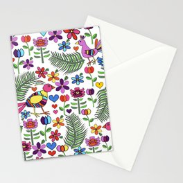 Otomi Floral Stationery Cards