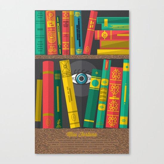 Miss Fortuna Poster Canvas Print