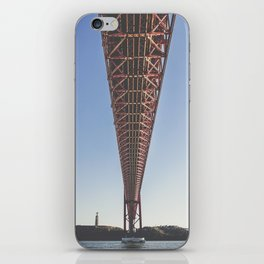 THE BRIDGE iPhone Skin
