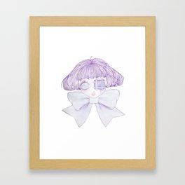 Pastel Infection Framed Art Print