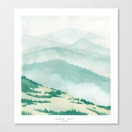 Sonoma: Coleman Valley Road Canvas Print