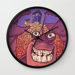 Be Who You Are on the Inside Wall Clock