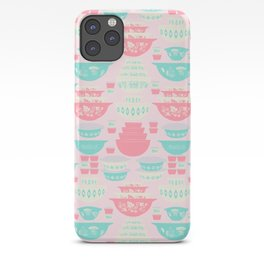 Pink and Turquoise Everything iPhone Case