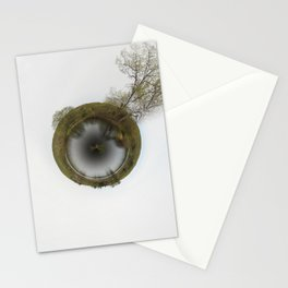 tree planet Stationery Cards