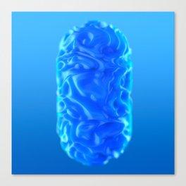 Blue Pill Canvas Print