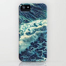 Every tide hath its ebb iPhone Case