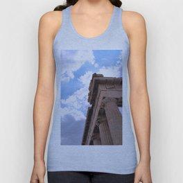 Sky above Parthenon Unisex Tank Top