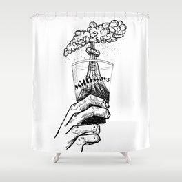 Pan Galactic Gargle Blaster Shower Curtain