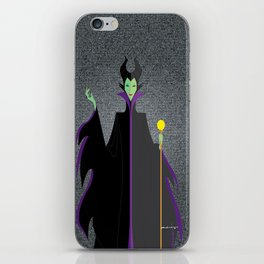 Origami - Mistress of All Evil iPhone Skin
