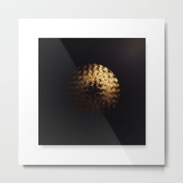 Theres Gold In Them Astroids Metal Print