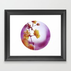 May. Framed Art Print