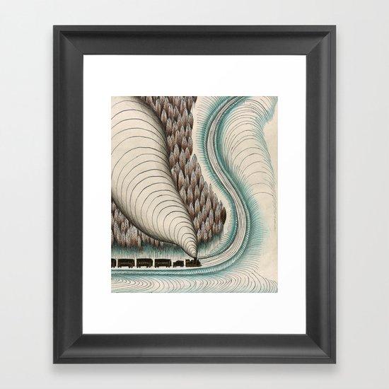 Jack London #1 Framed Art Print