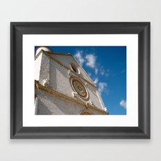 Assisi Framed Art Print