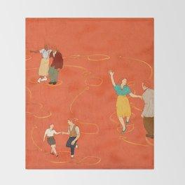 Sing, sing, sing! Throw Blanket