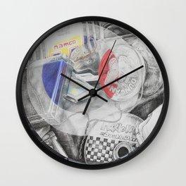 Broken Up Childhood Wall Clock