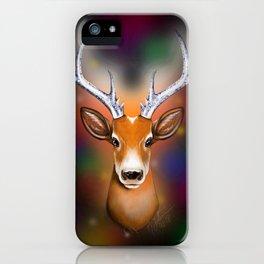 Christmas Woodland Beast iPhone Case
