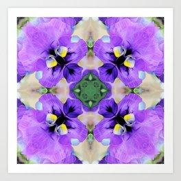 Parma Violet Art Print