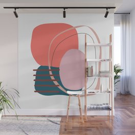 Coral based Wall Mural