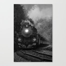 Lehigh Gorge Railroading Canvas Print